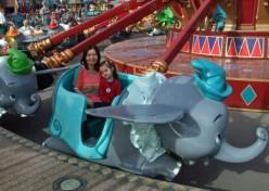 The Dumbo Flying Elephant Ride
