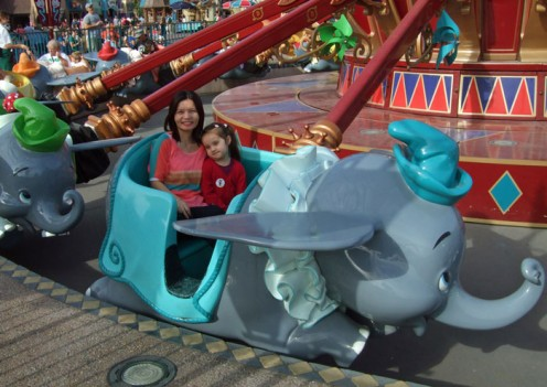 The Dumbo Flying Elephant Ride