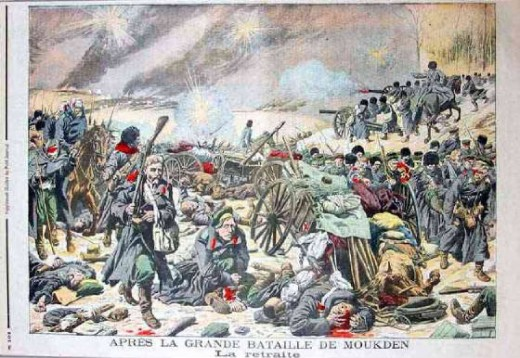 The Rout at Mukden 10 March 1905