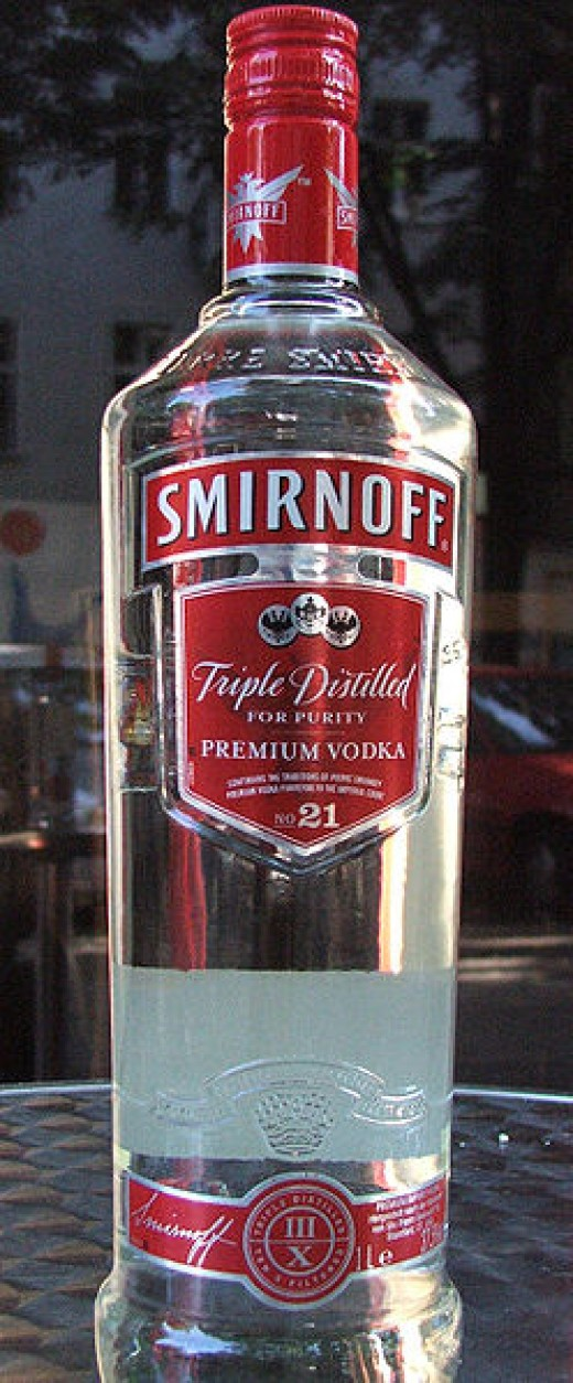 Triple distilled for purity? Pure health wrecking liquid?