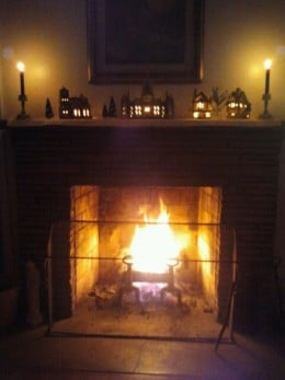 Burning a yule log is one tradition during this time. The log comes from the tree the previous year.