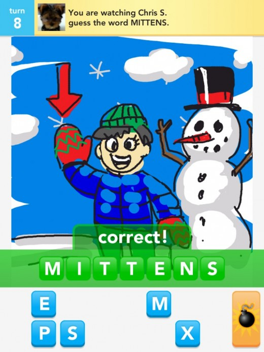 Draw something for the iPhone