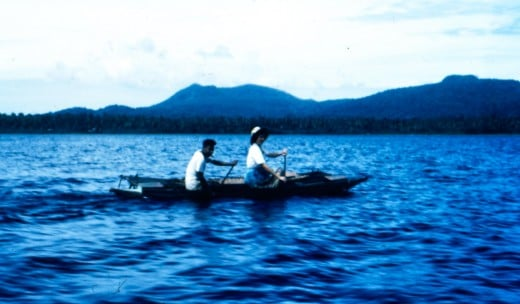 In the Dobu Passage, PNG