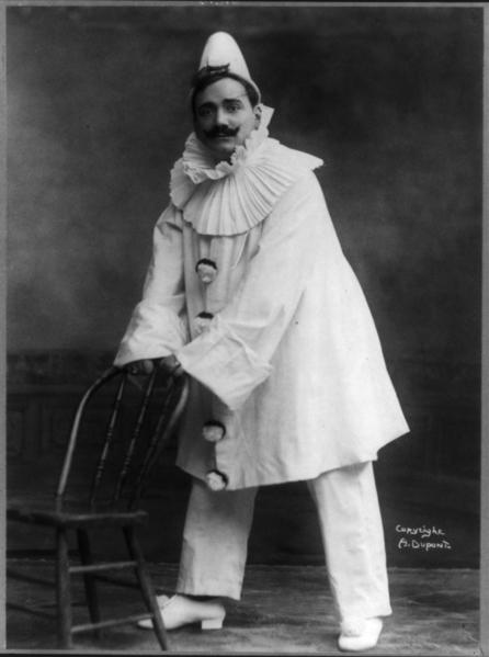 Enrico Caruso in pagliacci