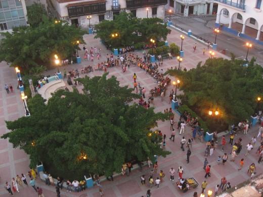Parque Cespedes, Santiago de Cuba, Cuba