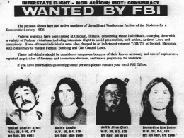 AYERS IN THE FBI WANTED POSTER