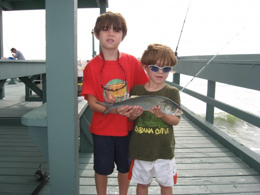 Sharing my passion of saltwater fishing has created two little ardent anglers.