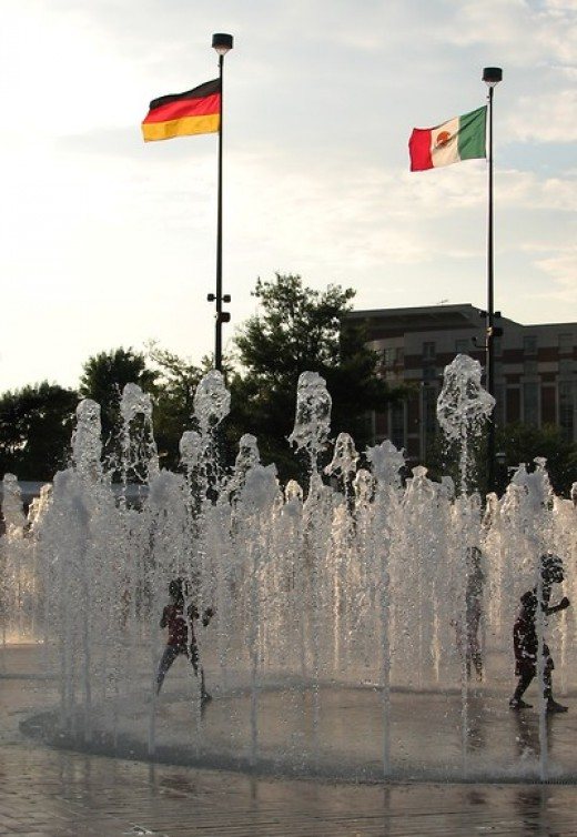 Free image of fountain