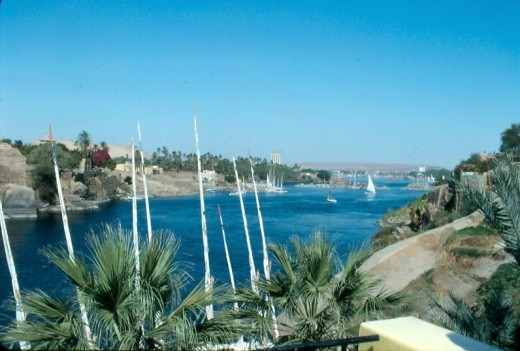 Nile view from Aswan.