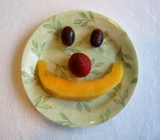 Serve food with a smile :)