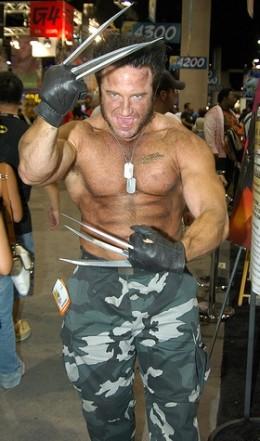 Wolverine at Dragon*Con.