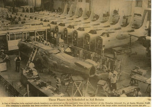 My Dad worked here building airplanes for WWII, he was 18-19 yrs old.