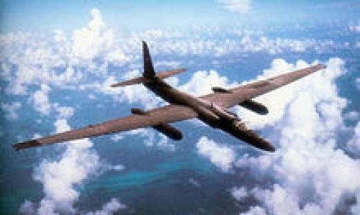 High aspect ratio, Low wing loaded U2 Spy plane