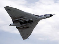 Pure delta wing with increased wing area - Vulcan Bomber