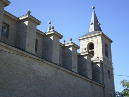 Church of St. Barnabus in El Escorial in Spain.