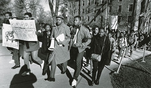 AN ANTI-RACISM RALLY sparked the Civil Rights Movement in America that prompted passage of the Civil Rights Act in 1964 giving all citizens of America equal rights.
