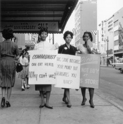 THE NAACP CIVIL RIGHTS PROTESTS were landmark in securing African-Americans the rights to vote and equal rights with all citizens of the United States.