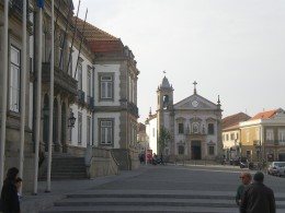 Chapel of Saint Anthony and the townhall