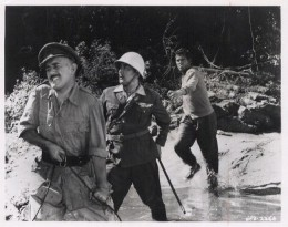 Alec Guinness, Sessue Hayakawa and Geoffrey.Horne