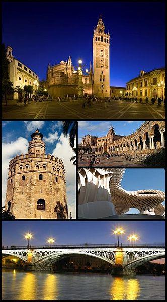 Scenes of Sevilla, Spain