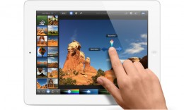 Multi-touch feature of the new iPad - 2013 Top 10 Ultimate Birthday Gifts for Men, by Rosie2010