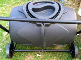 Compost tumbler, by far, my favorite