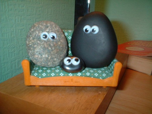I remember when Pet Rocks were all the rage in the early 1970's. This is an example of turning an idea into an income-generating source.