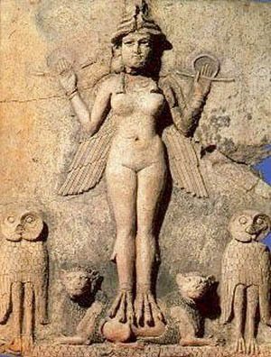 """Easter""  -  ""Ishtar"" - ""Eostre""  - The springtime goddess of ancient Babylon"