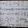 Finding the eigenvalues of the Fibonacci sequence matrix: