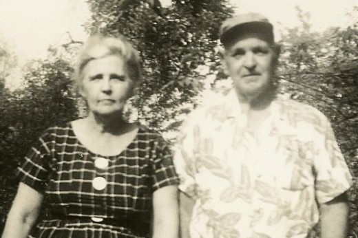 This is my grandparents Mr. and Mrs Chesnut.