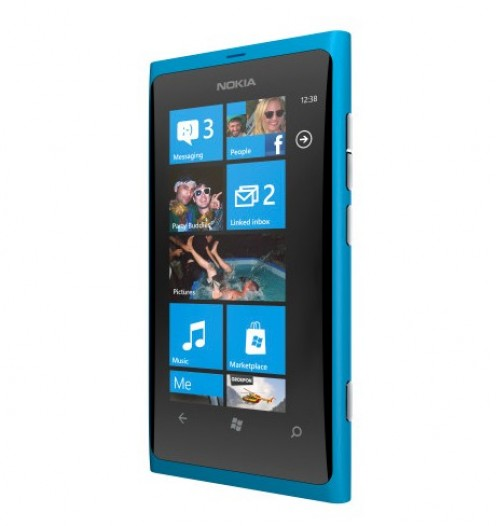 The Nokia Lumia 800 features the Windows Phone operating system and supports the viewing of Microfice Office suite file types.