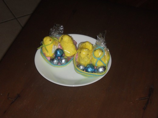 Easter Nests - easy craft