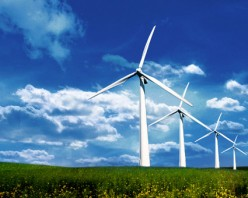 What's the environmental impact between oil sands and wind farms?
