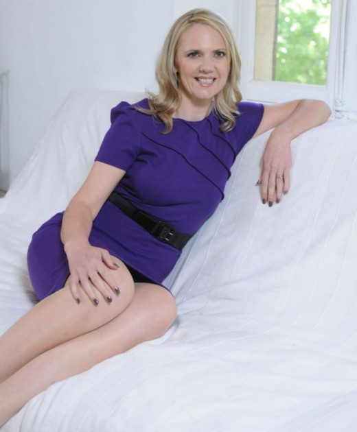 Samantha Brick, pictured at her home in France, says that women hate her because she's beautiful