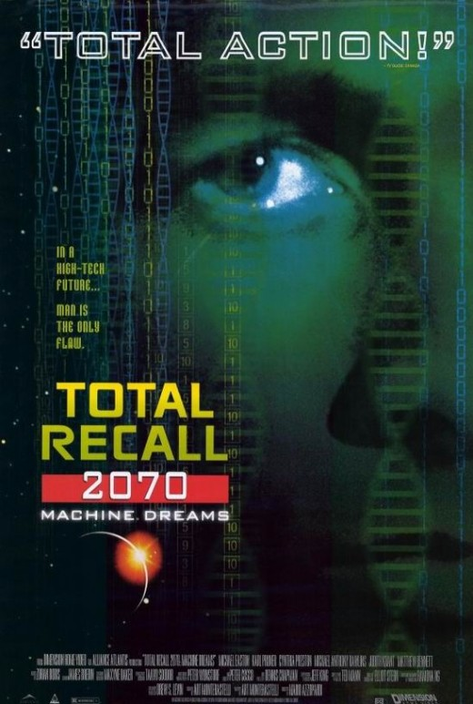 Total Recall (2070) poster