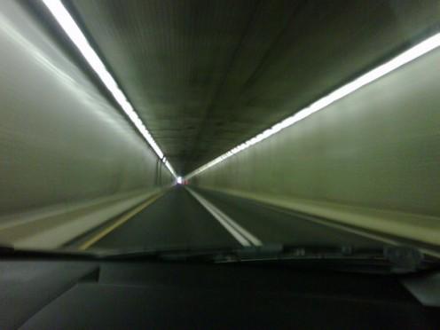 The Lincoln Tunnel, Manhattan, New York