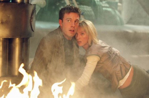 Ben Affleck and Uma Thurman in Paycheck (2003)