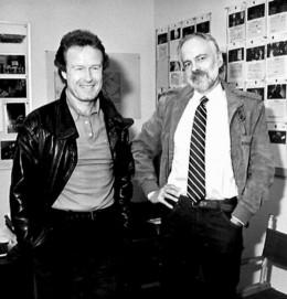 Ridley Scott with Philip K. Dick