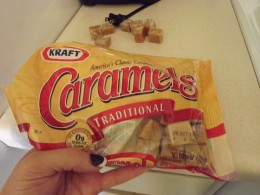 Caramels that I used.