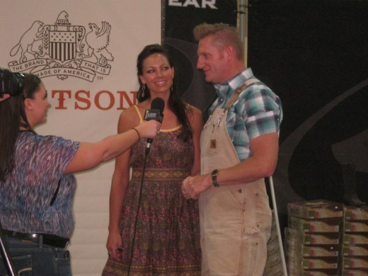 Joey and Rory, and outstanding husband-wife duet of singers and songwriters. One of our favorite acts of the entire weekend!