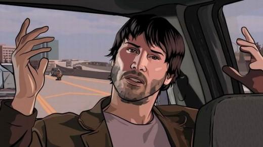Keanu Reeves in A Scanner Darkly (2006)