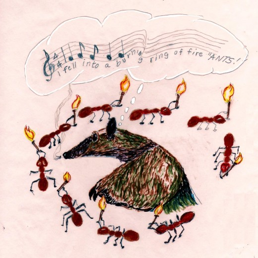 The ring of fire ants