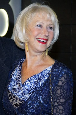 Helen Mirren, you are a goddess. We all bow down to your greatness.