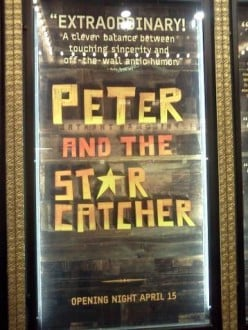 Broadway Review: Peter and the Starcatcher (2012)