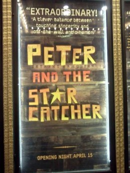 Peter and the Starcatcher theater poster