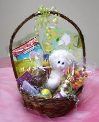 This whole basket is disaster to an animal. The fake grass and even the stuffing in the toy will hurt the animals.