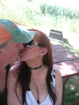 My husband Marc and I