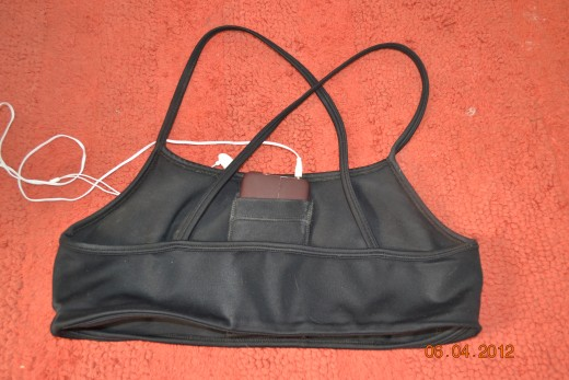 Back of My Objex Sports Bra by Alicia Evans, Inc.