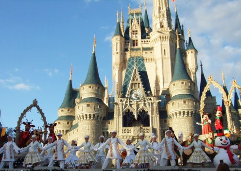 The special Christmas show featured a different storyline with special characters and the dancers in seasonal costume.