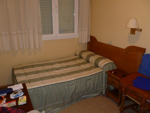 Simple accommodations are the norm. Clean and comfortable and usually a bit smaller than what we have in the U.S.